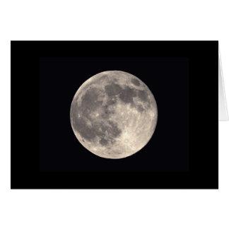 Carte de pleine lune
