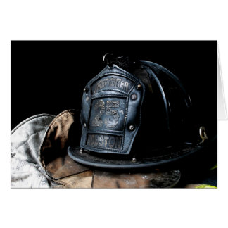 Carte de pompier de Houston