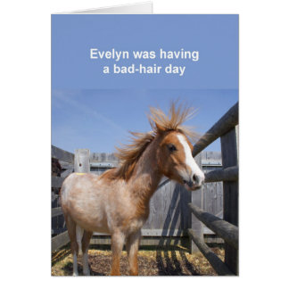 Carte de poney