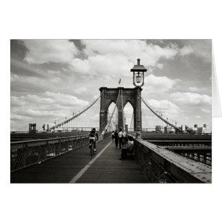 Carte de pont de Brooklyn