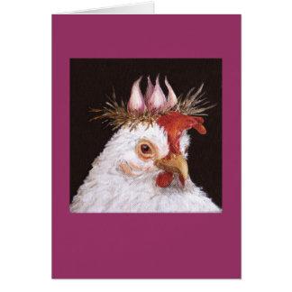 carte de poule d'ail