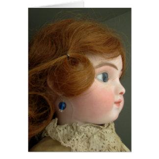 Carte de poupée de Steiner meilleurs voeux -