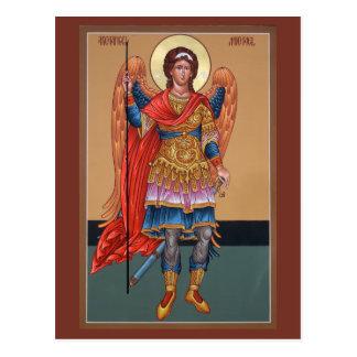 Carte de prière d'Arkhangel Michael