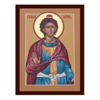 Carte de prière de Daniel de prophète