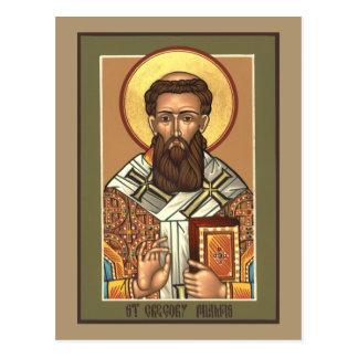 Carte de prière de Gregory Palamas de saint