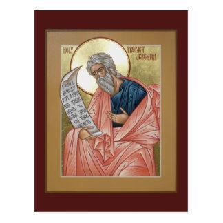 Carte de prière de Jérémie de prophète