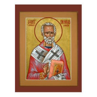 Carte de prière de Nicholas de saint Cartes Postales