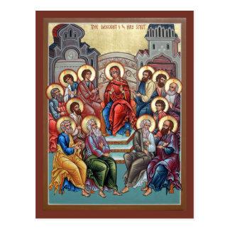 Carte de prière de Pentecost