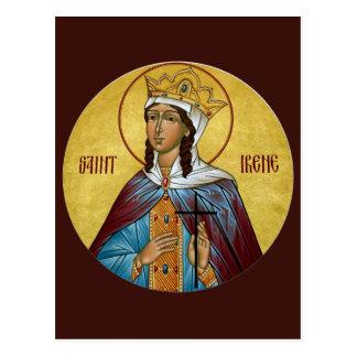 Carte de prière de St Irène Cartes Postales