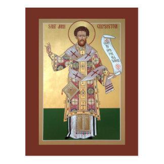 Carte de prière de St John Chrysostom