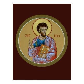Carte de prière de St Luke Cartes Postales