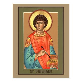 Carte de prière de St Panteleimon
