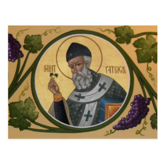 Carte de prière de St Patrick