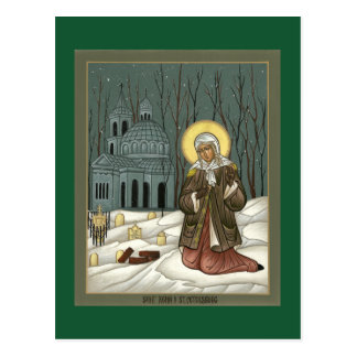 Carte de prière de St Xenia