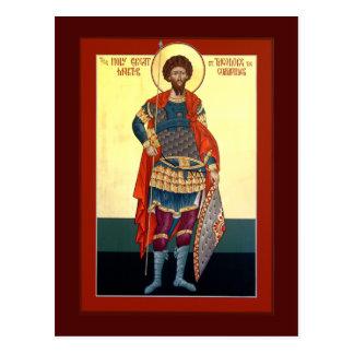 Carte de prière de Theodore de saint