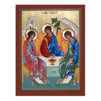Carte de prière de trinité sainte