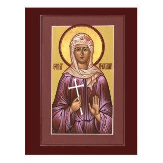 Carte de prière de Valentina de saint