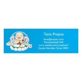 Carte de profil de Bouddha de bébé Carte De Visite Petit Format