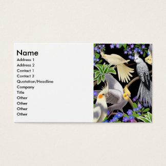 Carte de profil de Cockatiels