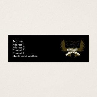Carte de profil de conception de lutte