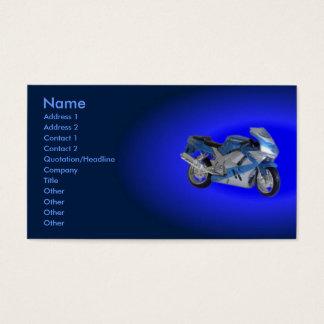Carte de profil de moto