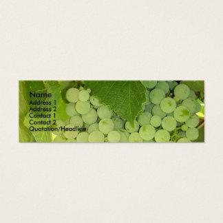 Carte de profil de raisins