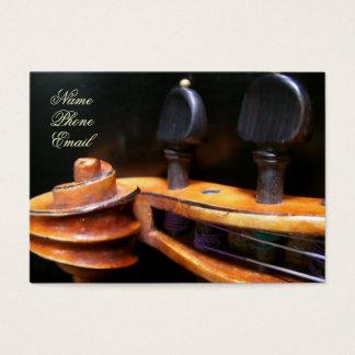 Carte de profil de rouleau de violon par Leslie
