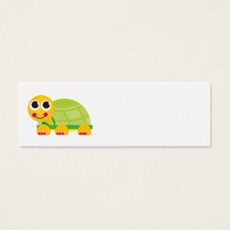 Carte de profil de tortue