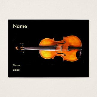 Carte de profil de violon/alto par Leslie Harlow