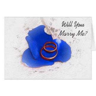 Carte de proposition de mariage m'épouserez-vous ?