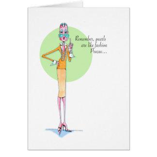 Carte de Prozac de mode