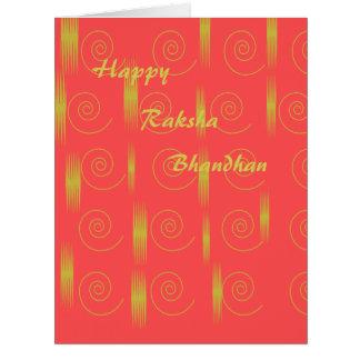 Carte de Rakshabandhan