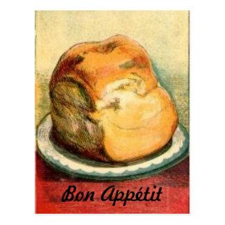Carte de recette de pain d'Appetit de fève