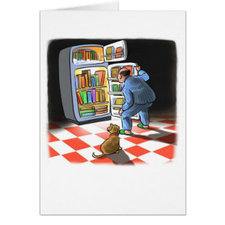 Carte de réfrigérateur de livre