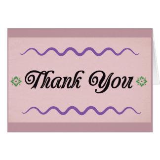 Carte de remerciements, blanc, cartes de voeux