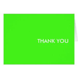 """carte de remerciements--""""chaux électrique """""""