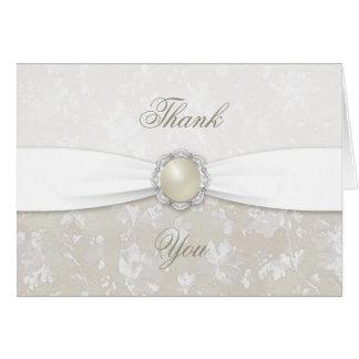 Carte de remerciements d'anniversaire de mariage