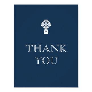 Carte de remerciements de croix celtique -