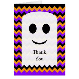 Carte de remerciements de Halloween