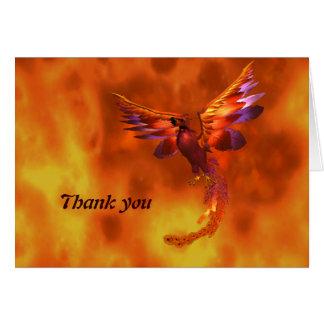 Carte de remerciements de Phoenix