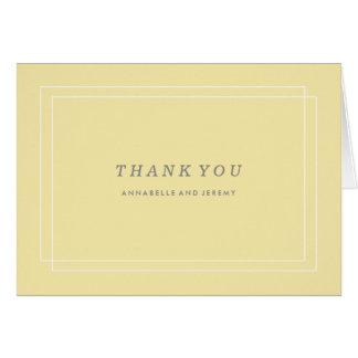 Carte de remerciements de plantation - citron