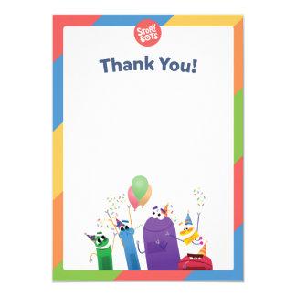 Carte de remerciements de StoryBots
