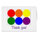carte de remerciements de Suffisance-dans-le-blanc