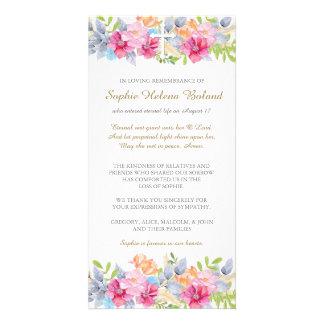 Carte de remerciements funèbre de sympathie de photocarte personnalisée