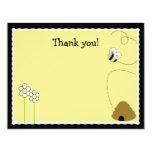 Carte de remerciements heureux de Finish* de Carton D'invitation 10,79 Cm X 13,97 Cm