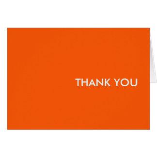 """Carte de remerciements--""""orang-un-Tang """""""