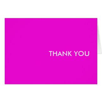 """Carte de remerciements--""""personnes pourpres svp """""""