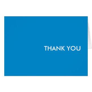 """Carte de remerciements--""""rêve bleu """""""
