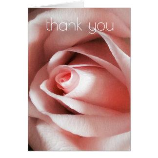 Carte de remerciements simple d'élégance