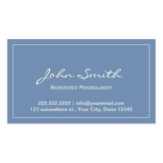 Carte de rendez-vous de psychologue enregistrée pa cartes de visite professionnelles
